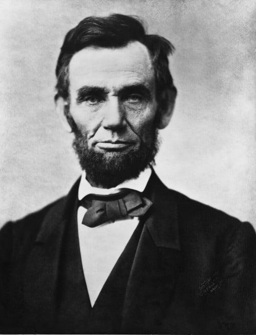 de Republikeinse president die verantwoordelijk was voor het afschaffen van slavernij