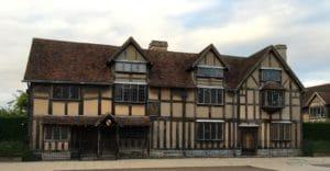 Shakespeare's house - Engels Klalsokaal - English Classroom
