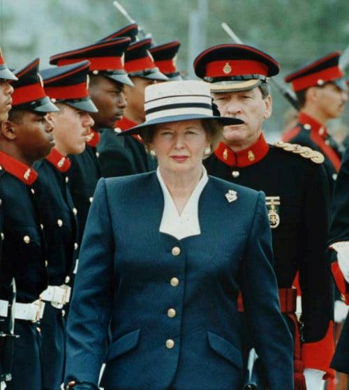 Margaret Thatcher - vrouwelijke premier GB - quiz Engels Klaslokaal