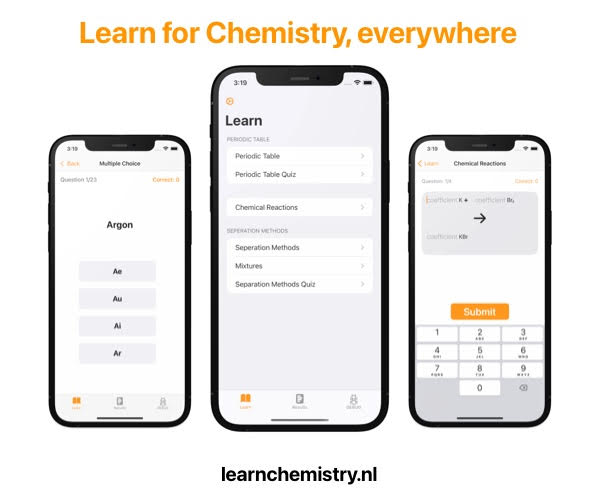 ad Learn Chemistry Online