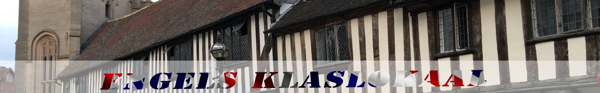 vakwerkhuizen Stratford-upon-Avon header engels klaslokaal