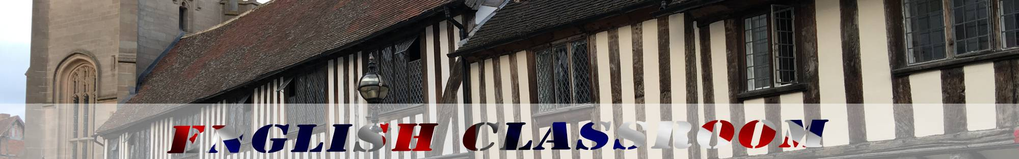 timbered houses straford-upon-avon header english classroom