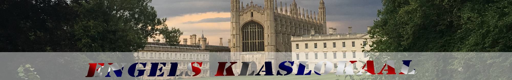 king's college cambridge header engels klaslokaal