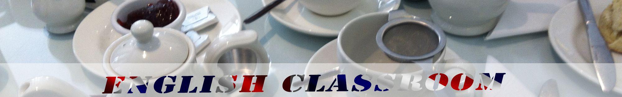 english afternoon tea header english classroom