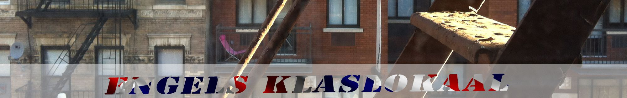 brandtrap in new york header engels klaslokaal