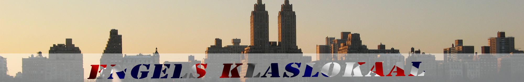 skyline van new york header engels klaslokaal