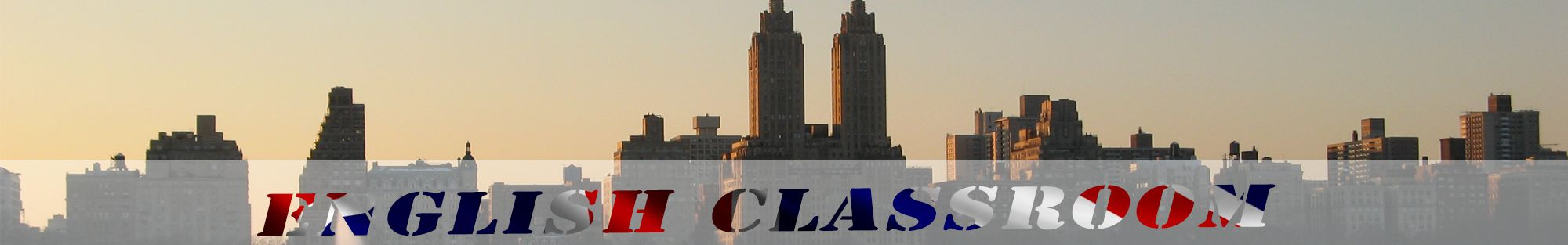 new york skyline header english classroom