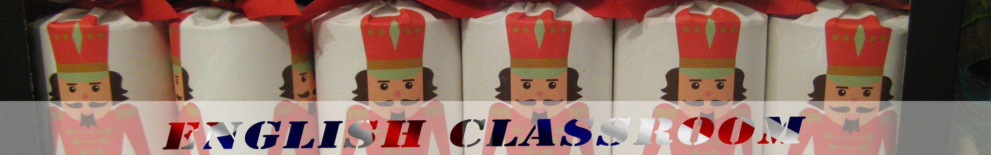 header christmas english classroom